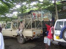 LKW für Tansania 2011