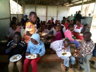 Kinder im Slum von Nairobi